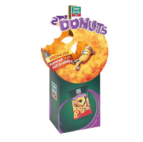 [Translate to English:] funny-frisch Donuts Display