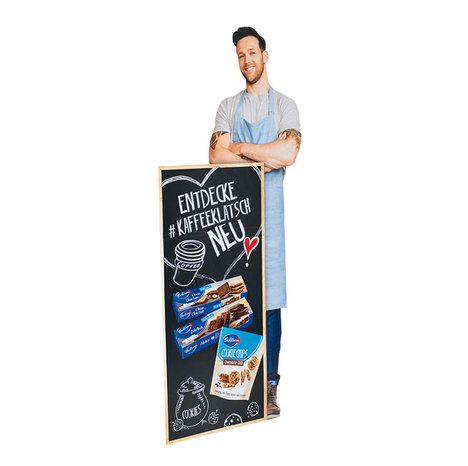 [Translate to English:] Standfigur für Bahlsen Cookie Chips